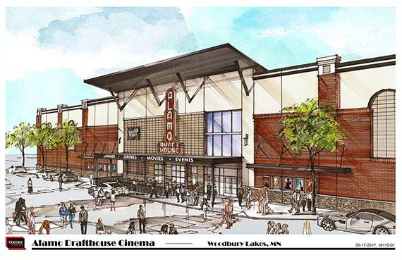 Shingobee to Construct Alamo Drafthouse Cinema in Woodbury