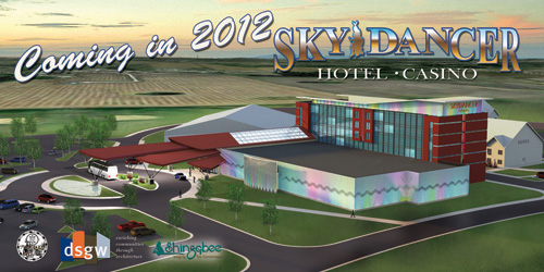 Shingobee Selected for Construction of Sky Dancer Hotel & Casino