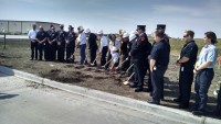 Williston Fire Station Groundbreaking