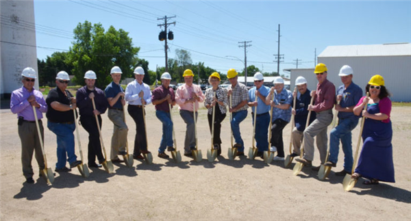 Fulda Area Credit Union Groundbreaking