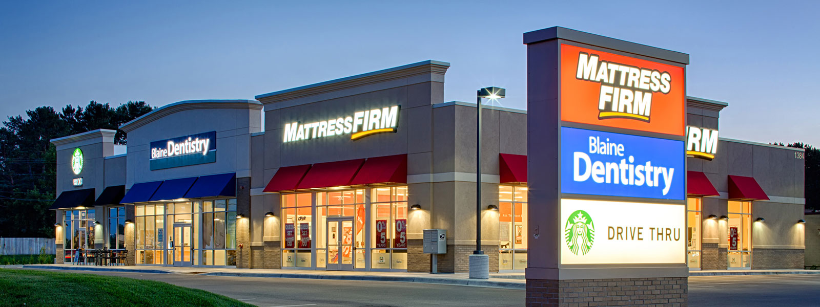 mattress firm building.  Firm Shingobee Builders U003e Projects Mattress Firm  MultiTenant Retail Centers In Building A